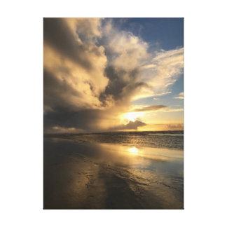 Oregon Coast Sunset Canvas