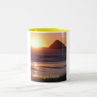 Oregon Coast Two-Tone Coffee Mug