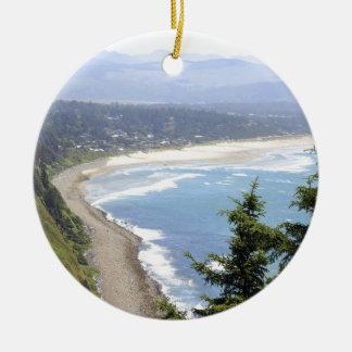 Oregon Coast View Christmas Ornament