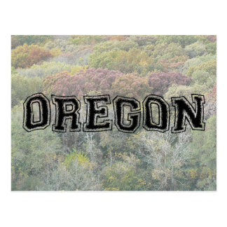 OREGON - College Distort - Mult Products Postcard