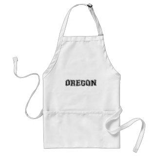 OREGON - College Distort - Mult Products Standard Apron