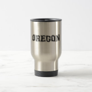OREGON - College Distort - Mult Products Travel Mug