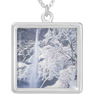 Oregon, Columbia Gorge National Scenics Area, Silver Plated Necklace