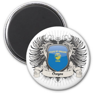 Oregon Crest Magnet