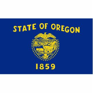 Oregon Flag Magnet Cut Out