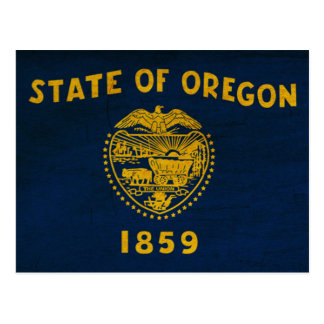 Oregon Flag Postcard