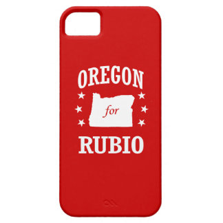 OREGON FOR RUBIO iPhone 5 CASE