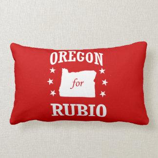 OREGON FOR RUBIO THROW PILLOWS