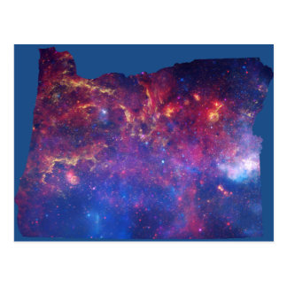 Oregon Galaxy Print Postcard