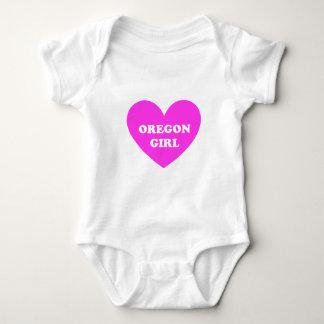Oregon Girl Baby Bodysuit