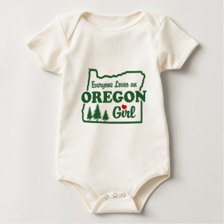 Oregon Girl Baby Creeper