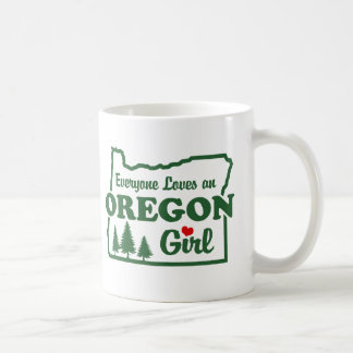 Oregon Girl Basic White Mug