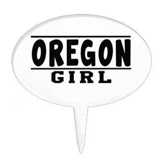 Oregon girl designs cake topper