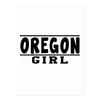 Oregon girl designs postcard