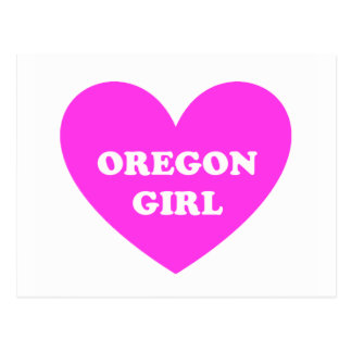 Oregon Girl Post Card