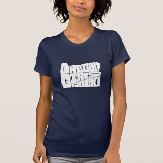 Oregon girls rock! (navy blue) T-Shirt