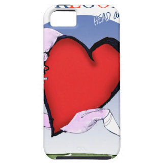 oregon head heart, tony fernandes tough iPhone 5 case