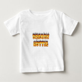 oregon hottie fire and flames shirts