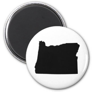 Oregon in Black and White Magnet