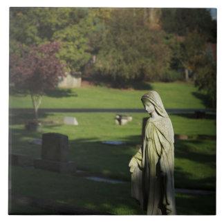 Oregon, Lake Oswego, Oswego Pioneer Cemetery Tile