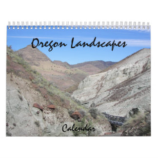 Oregon Landscapes Photo Calendar
