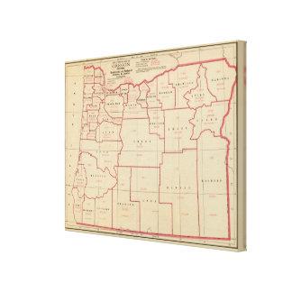 Oregon mfg, mechanical industries canvas print
