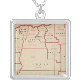 Oregon mfg, mechanical industries silver plated necklace