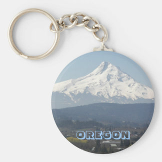 Oregon Mount Hood Photo Key Ring