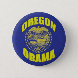 Oregon / Obama Button