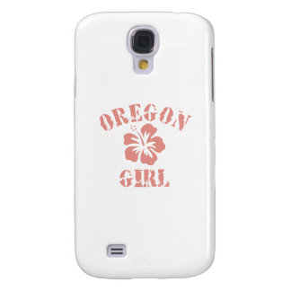 Oregon Pink Girl Samsung Galaxy S4 Case