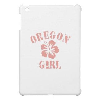 Oregon Pink Girl iPad Mini Cases