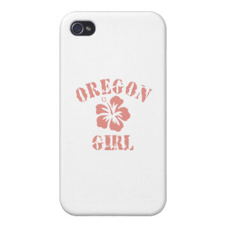 Oregon Pink Girl iPhone 4/4S Covers