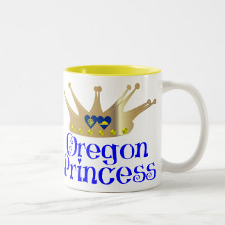 Oregon Princess Two-Tone Mug