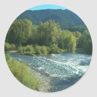 Oregon River Classic Round Sticker
