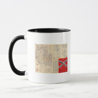 Oregon road map mug