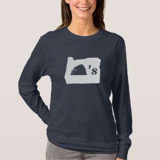 Oregon Rocks (white glyph) T-Shirt