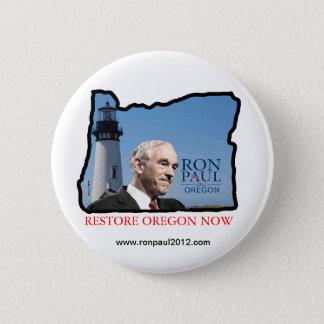 Oregon Ron Paul button