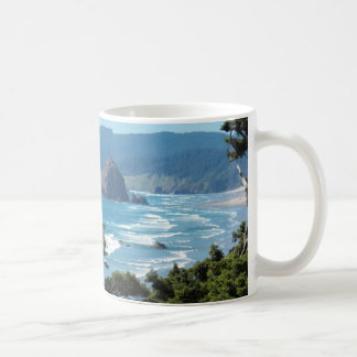 Oregon Seascape Basic White Mug