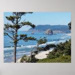 Oregon Seascape Photo Poster