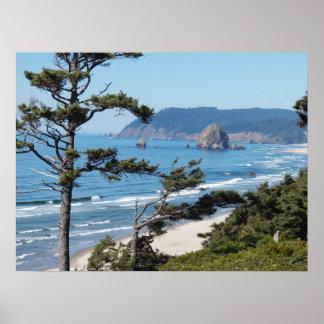 Oregon Seascape Poster