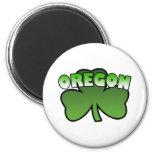 Oregon Shamrock Magnet