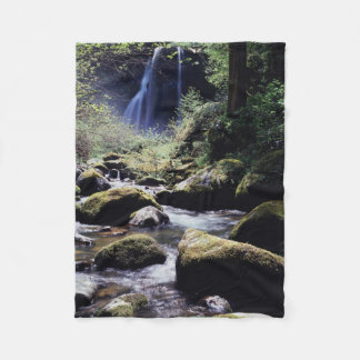 Oregon, Siskiyou National Forest, Elk Creek Fleece Blanket
