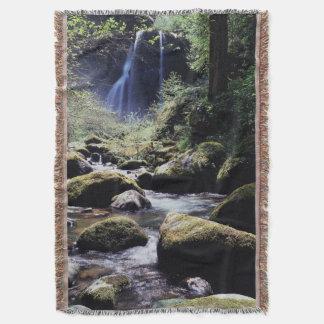 Oregon, Siskiyou National Forest, Elk Creek Throw Blanket