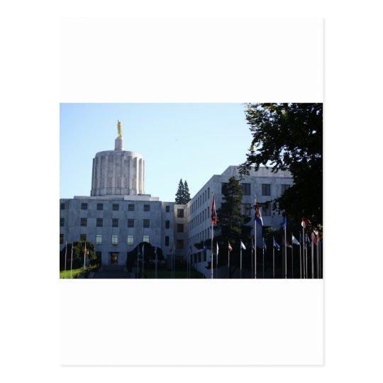 Oregon State Capital Postcard
