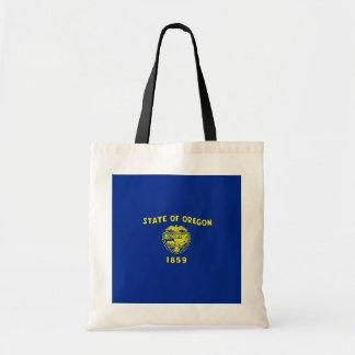 Oregon State Flag Design Budget Tote Bag