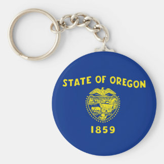 oregon state flag united america republic symbol key ring