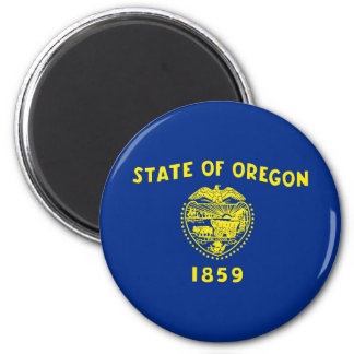 oregon state flag united america republic symbol magnet