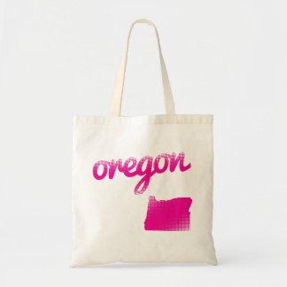 Oregon state in pink tote bag