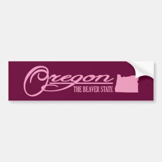 Oregon (State of Mine) Bumper Sticker