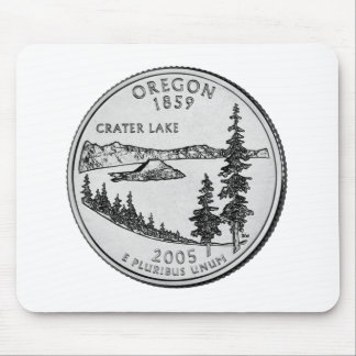 Oregon State Quarter Mouse Pad